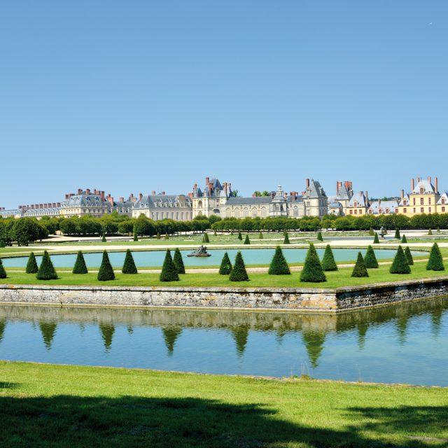 Le parc du château de Fontainebleau