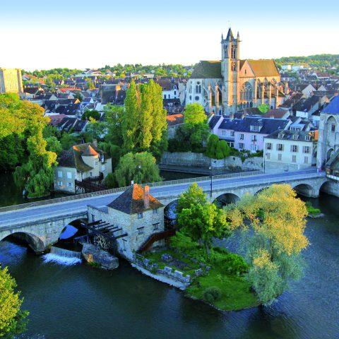 Vue de Moret Seine et Loing