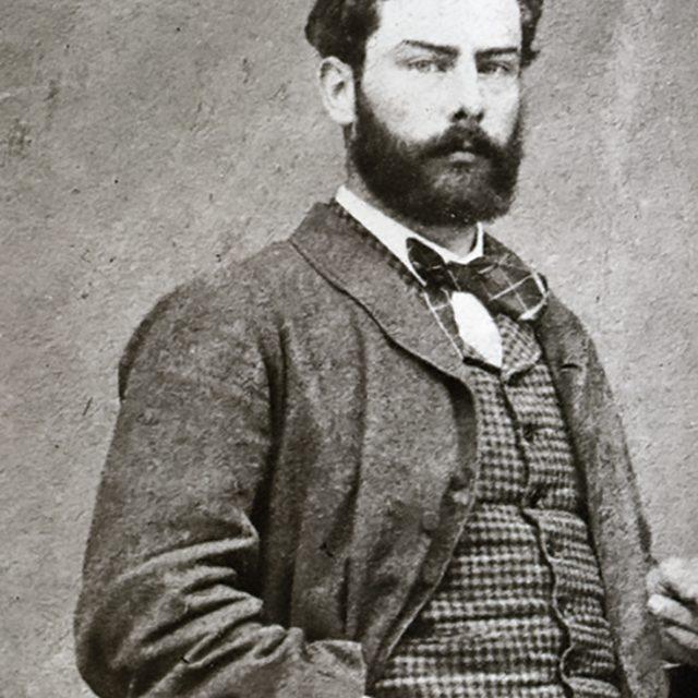 Portrait d'Alfred Sisley
