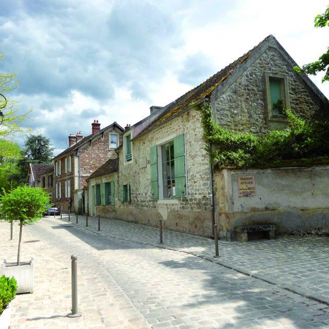 Maison atelier Jean François Millet et rue grande de Barbillon